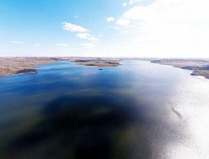 Kargaly reservoir