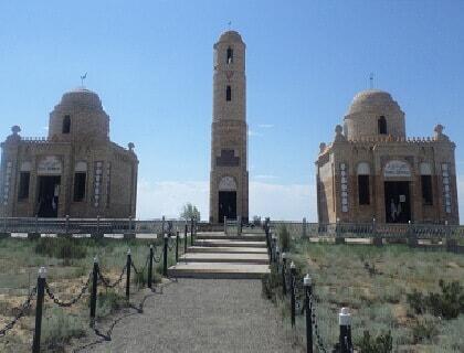 """Mausoleum """"Eset-Daribai"""""""