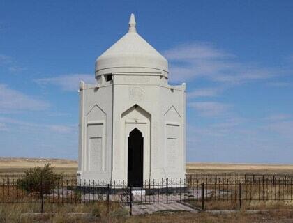 "Mausoleum ""Isatay Taimanov"""