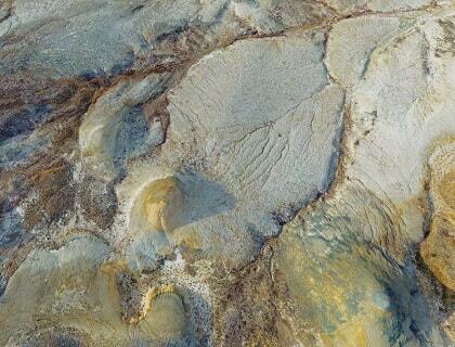Zhamanshin meteorite crater